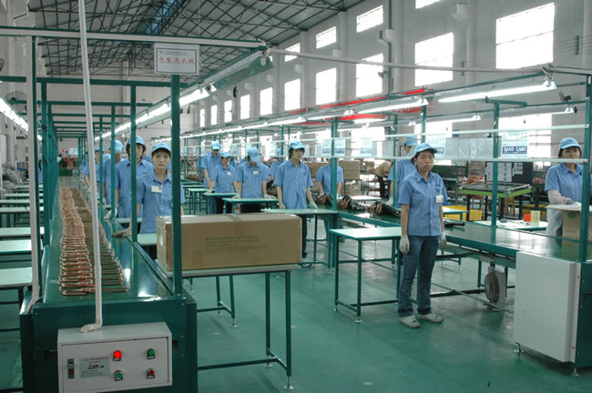 Air conditioner connecting pipe production line